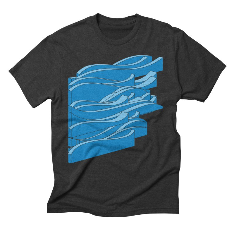Just Waves Men's Triblend T-Shirt by bulo