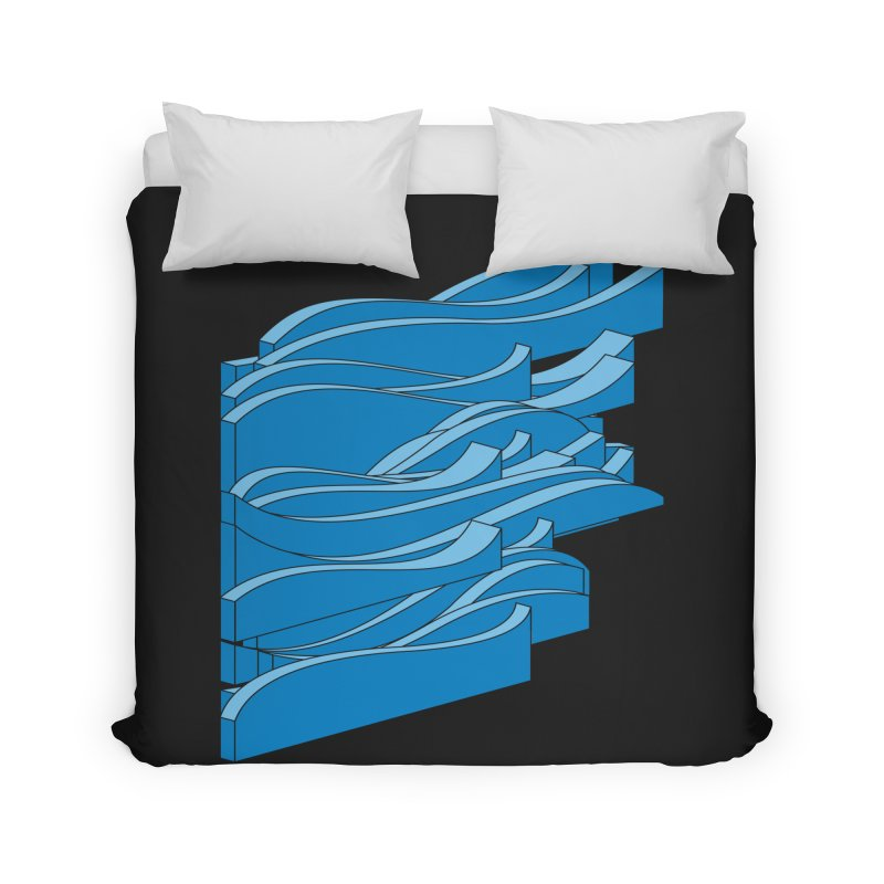 Just Waves Home Duvet by bulo