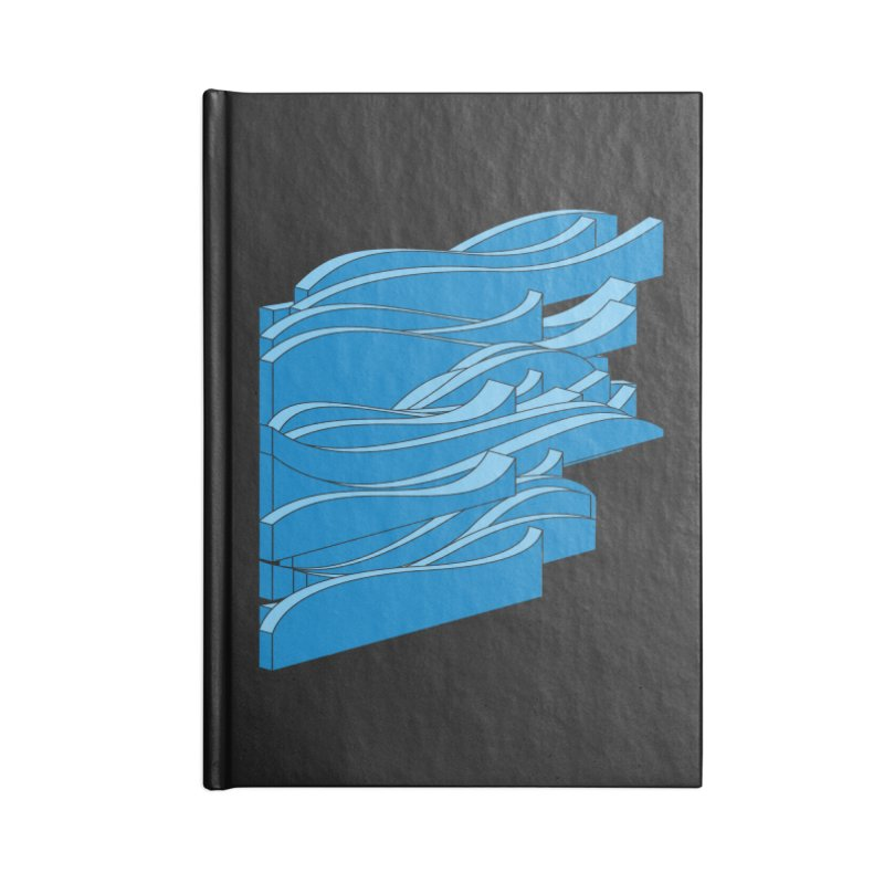 Just Waves Accessories Lined Journal Notebook by bulo