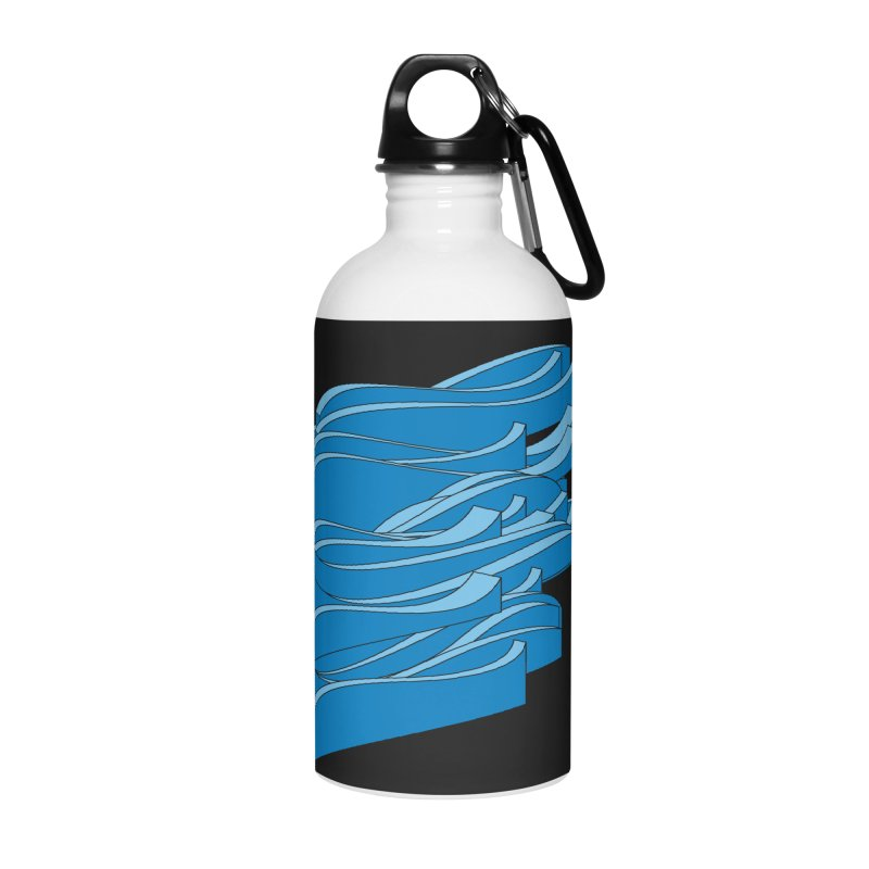 Just Waves Accessories Water Bottle by bulo