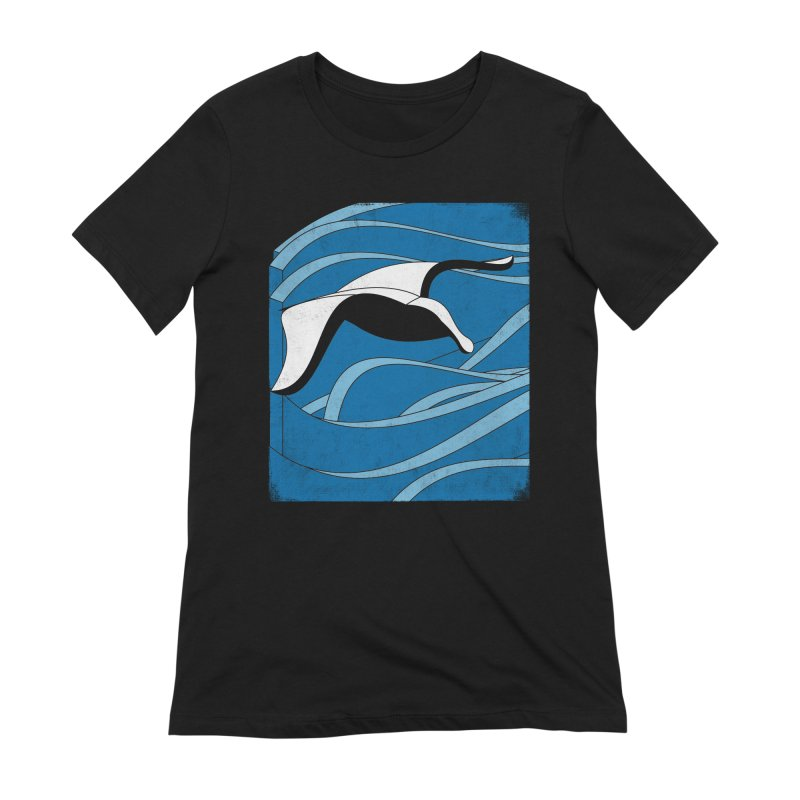 On The Waves Women's Extra Soft T-Shirt by bulo
