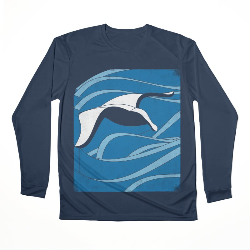 On The Waves Men's Performance Longsleeve T-Shirt by bulo