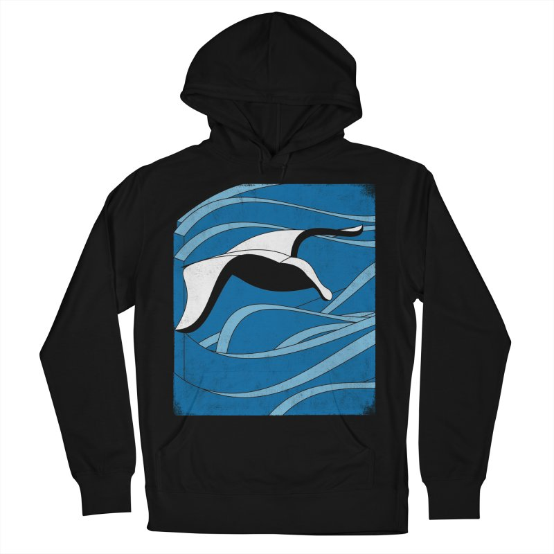 On The Waves Women's French Terry Pullover Hoody by bulo