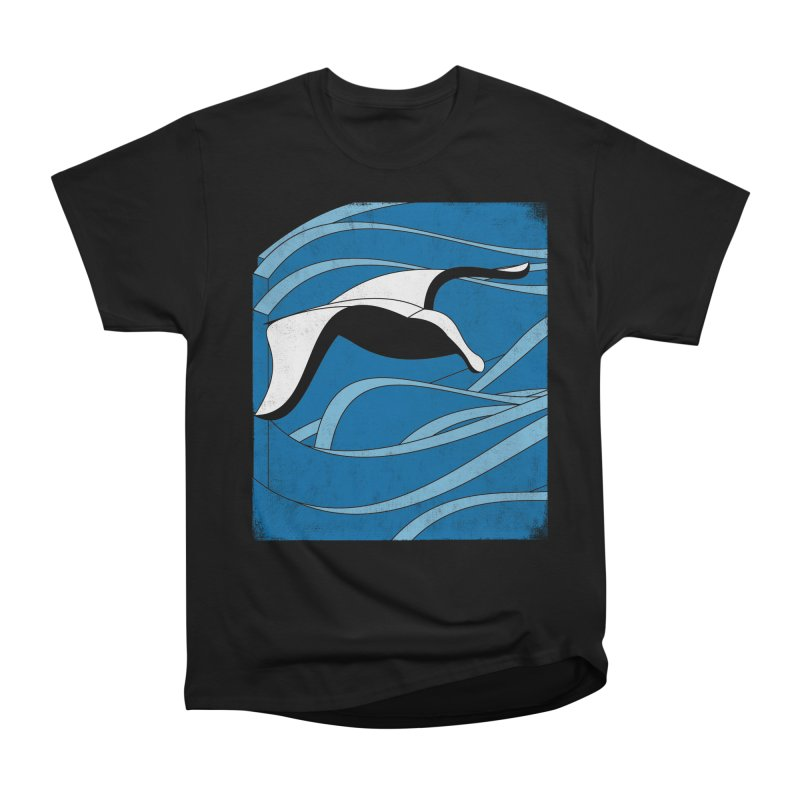 On The Waves Men's Heavyweight T-Shirt by bulo