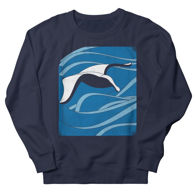On The Waves Women's French Terry Sweatshirt by bulo