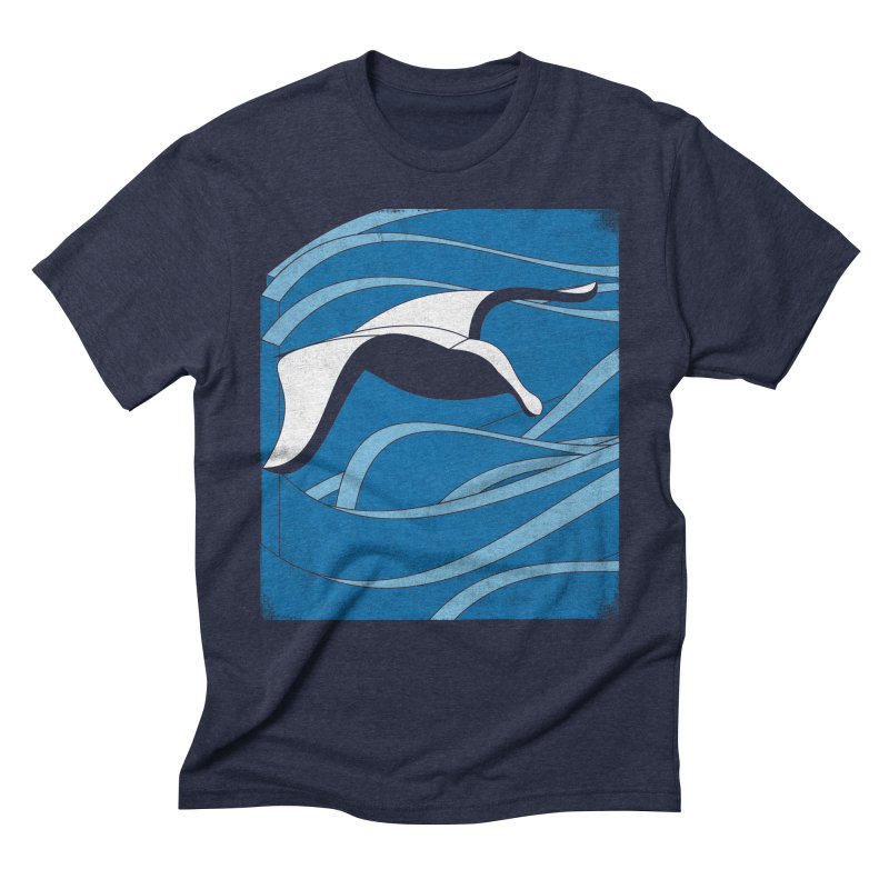 On The Waves Men's Triblend T-Shirt by bulo