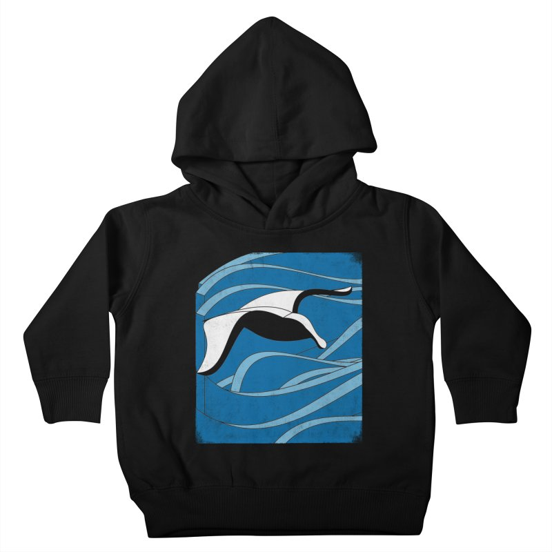 On The Waves Kids Toddler Pullover Hoody by bulo
