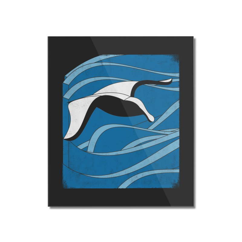 On The Waves Home Mounted Acrylic Print by bulo