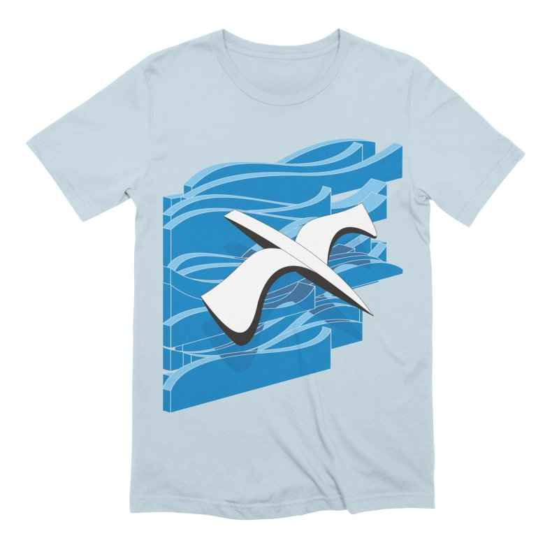 On The Waves Men's Extra Soft T-Shirt by bulo