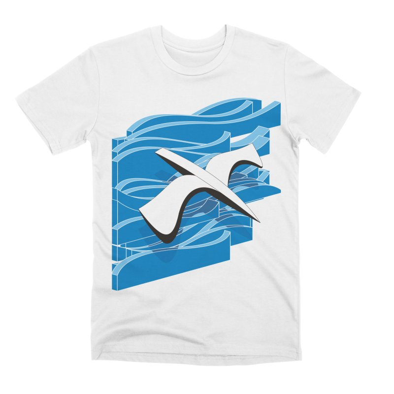 On The Waves Men's Premium T-Shirt by bulo