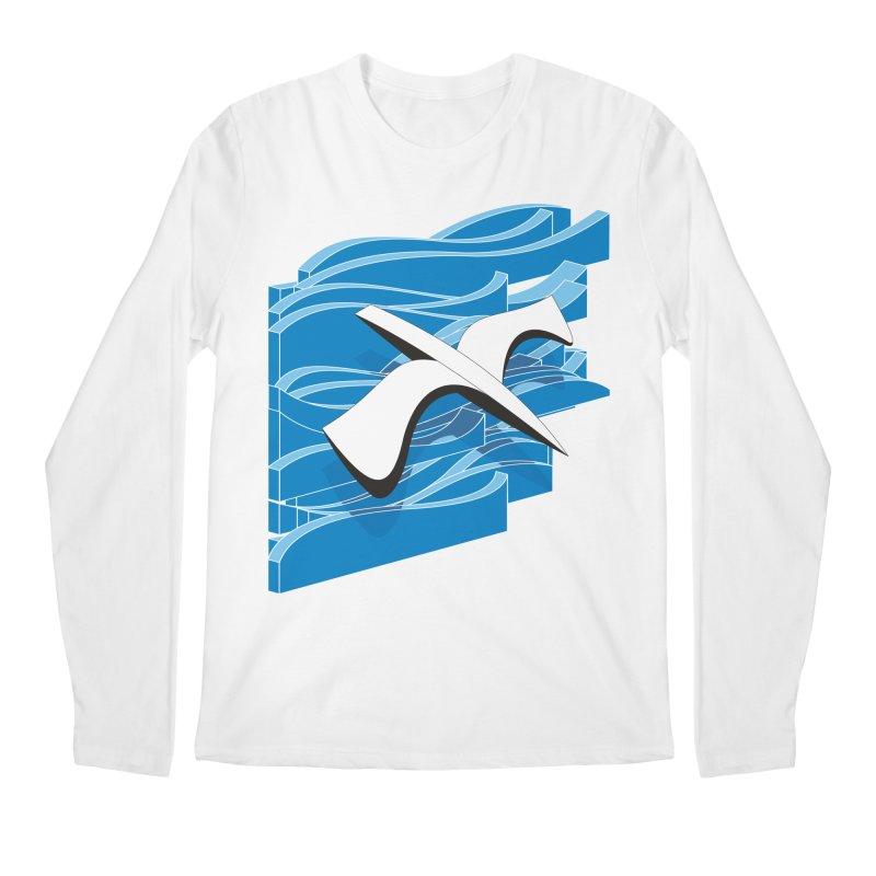 On The Waves Men's Regular Longsleeve T-Shirt by bulo