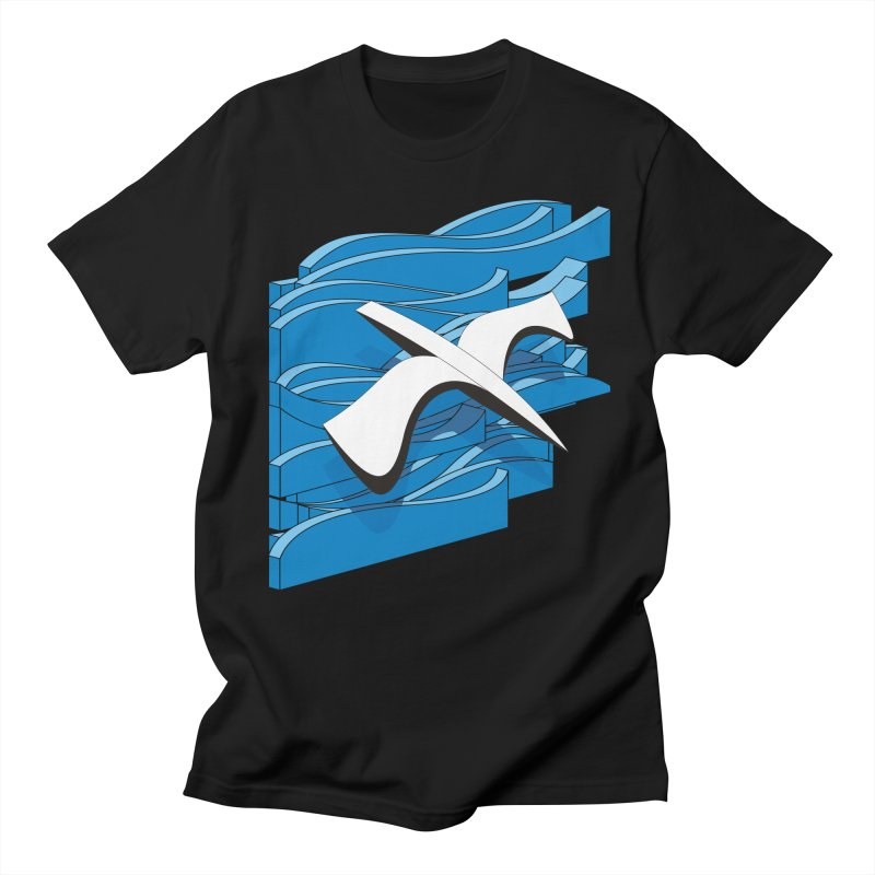On The Waves Men's Regular T-Shirt by bulo