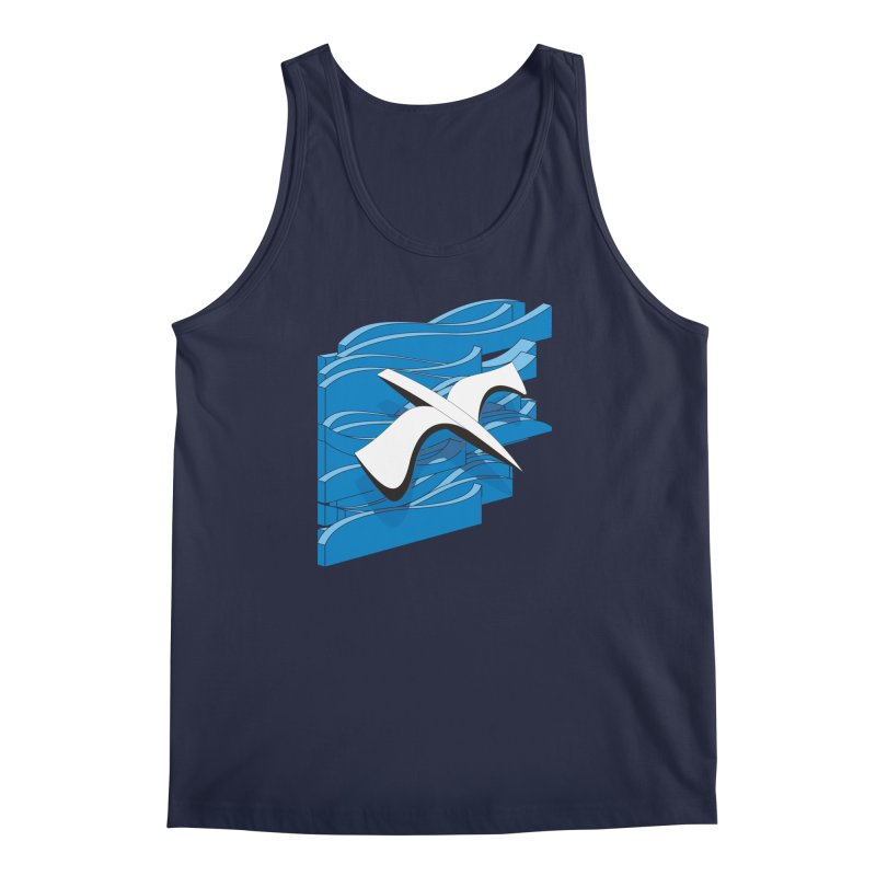 On The Waves Men's Regular Tank by bulo