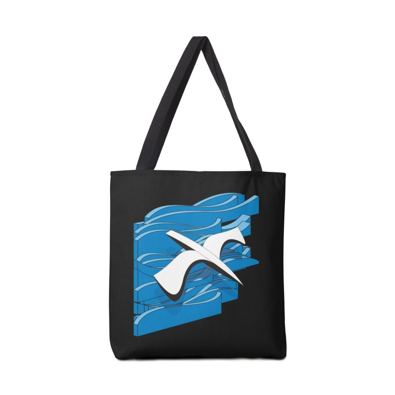 On The Waves Accessories Tote Bag Bag by bulo