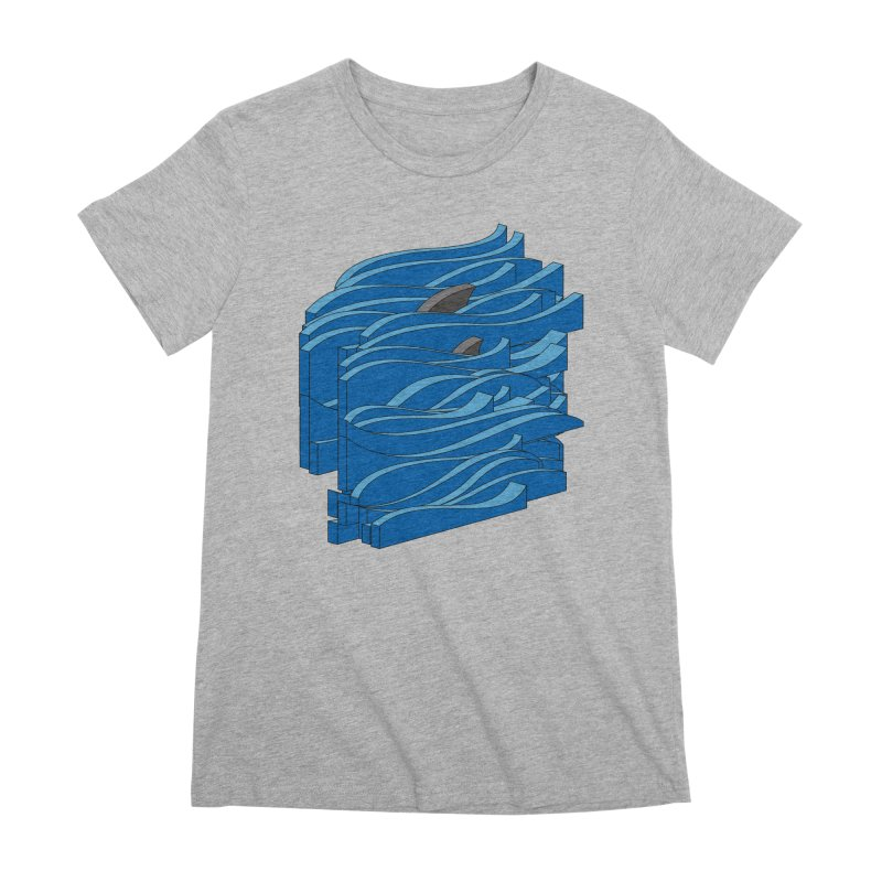 Fins Women's Premium T-Shirt by bulo
