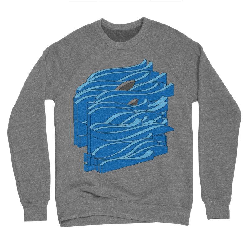Fins Men's Sponge Fleece Sweatshirt by bulo