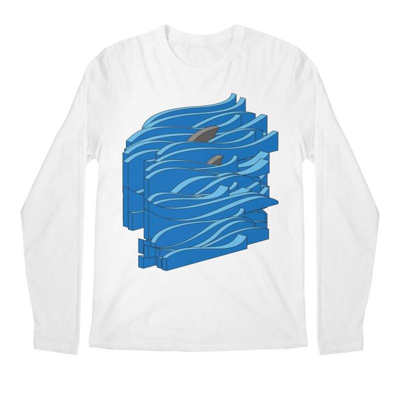 Fins Men's Regular Longsleeve T-Shirt by bulo