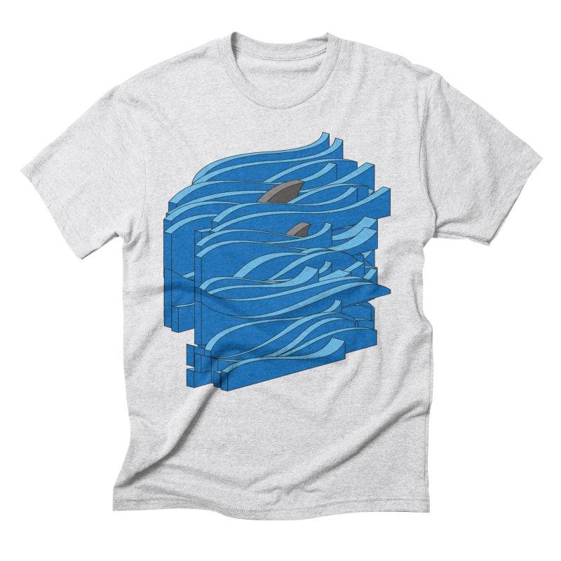 Fins Men's Triblend T-Shirt by bulo