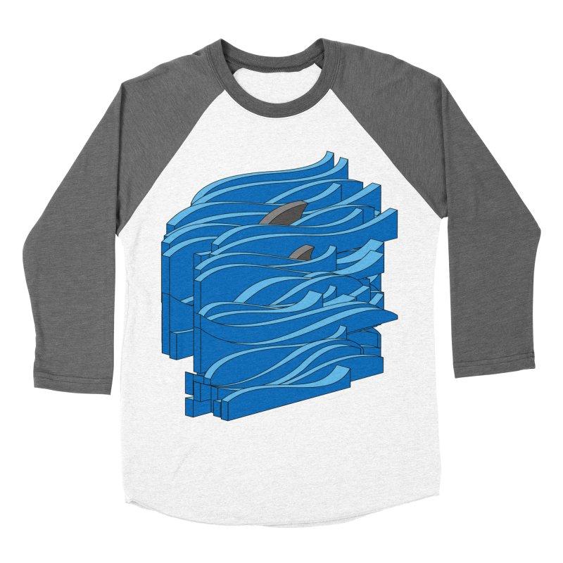 Fins Men's Baseball Triblend Longsleeve T-Shirt by bulo