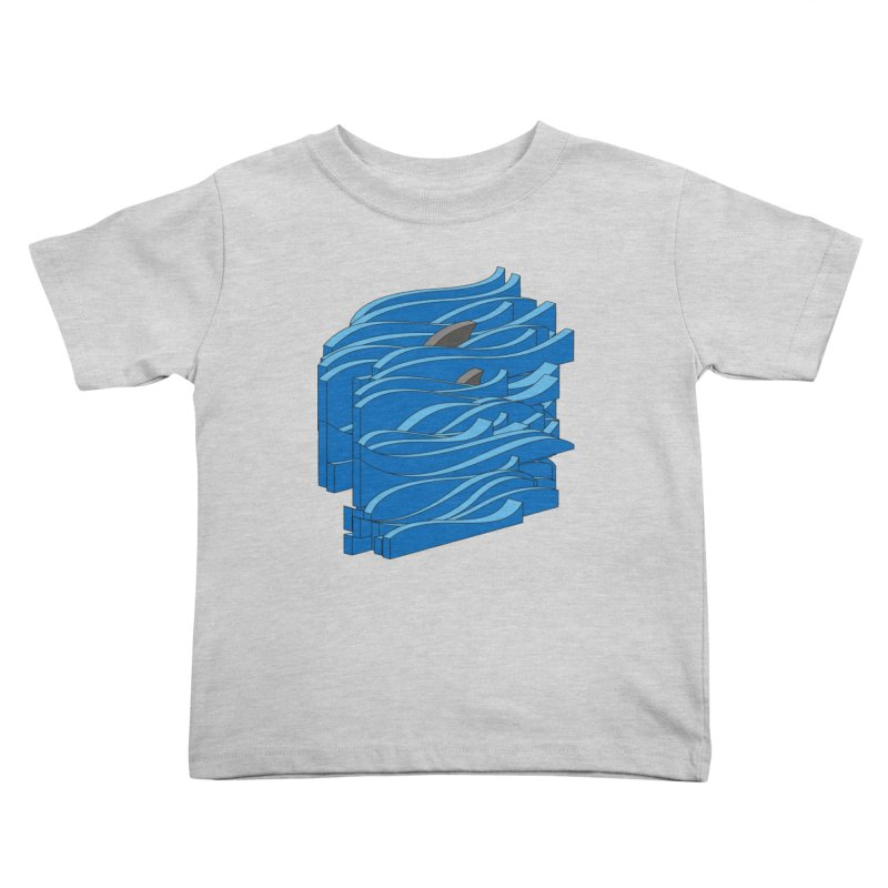 Fins Kids Toddler T-Shirt by bulo