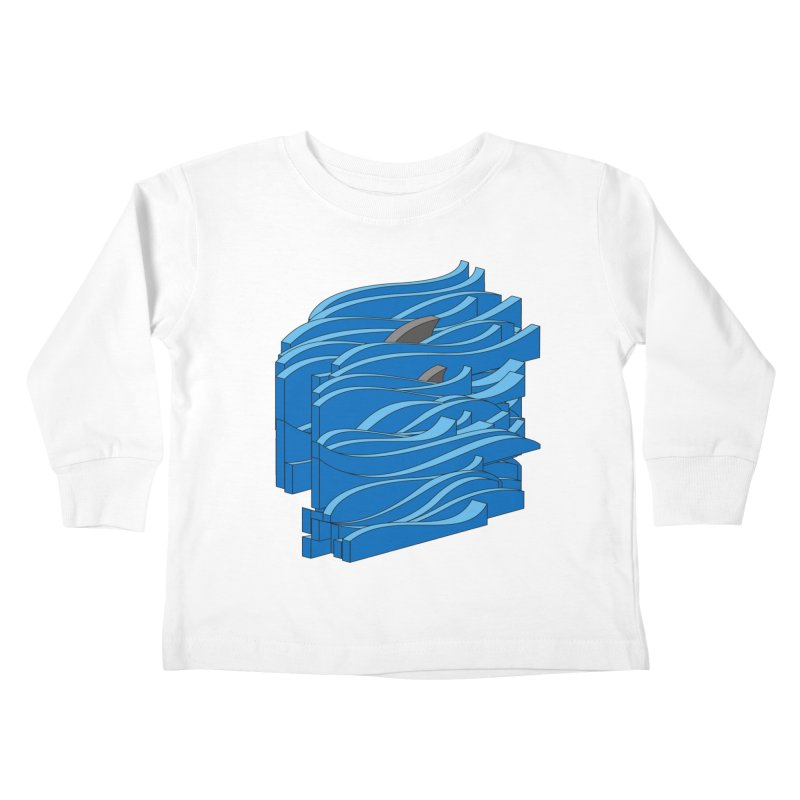 Fins Kids Toddler Longsleeve T-Shirt by bulo