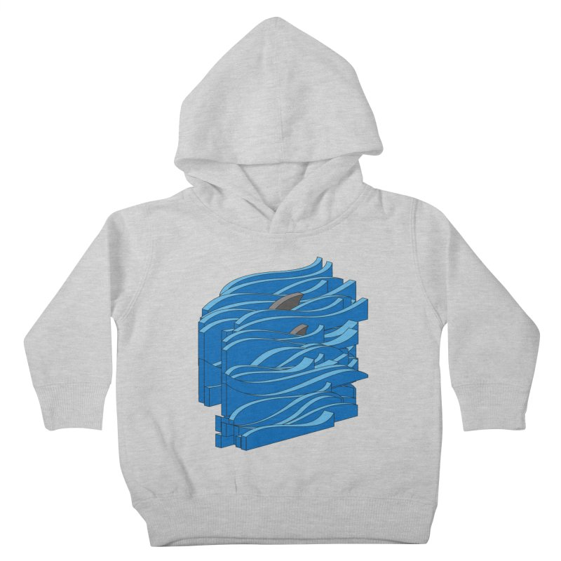 Fins Kids Toddler Pullover Hoody by bulo