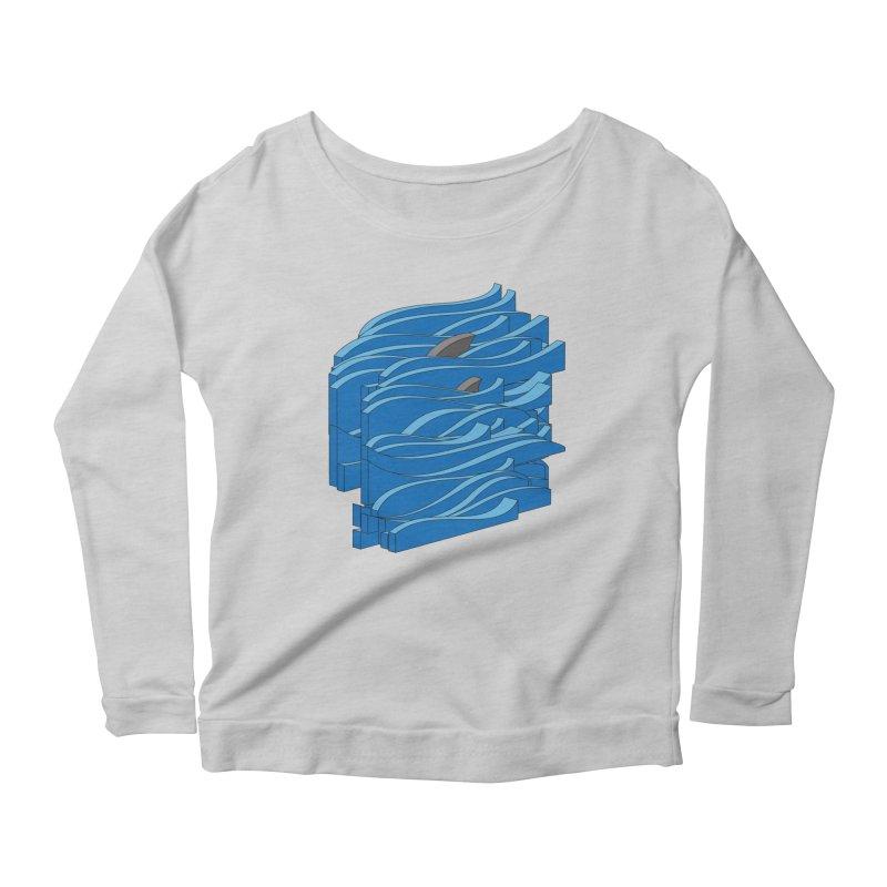 Fins Women's Scoop Neck Longsleeve T-Shirt by bulo
