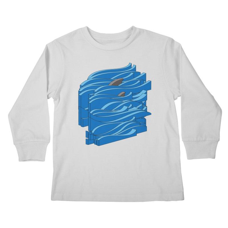 Fins Kids Longsleeve T-Shirt by bulo