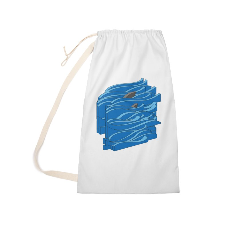 Fins Accessories Laundry Bag Bag by bulo