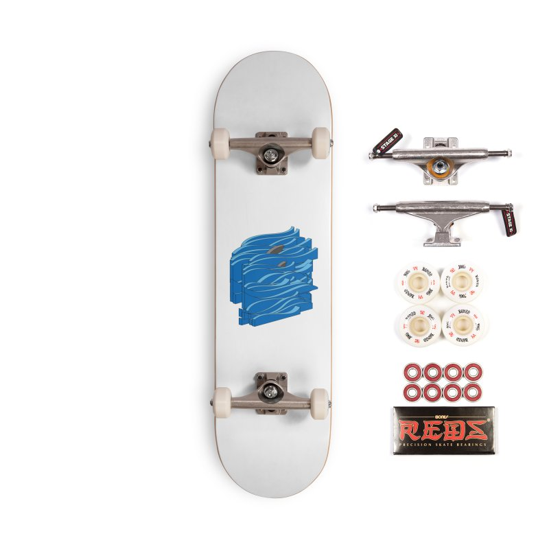 Fins Accessories Complete - Pro Skateboard by bulo