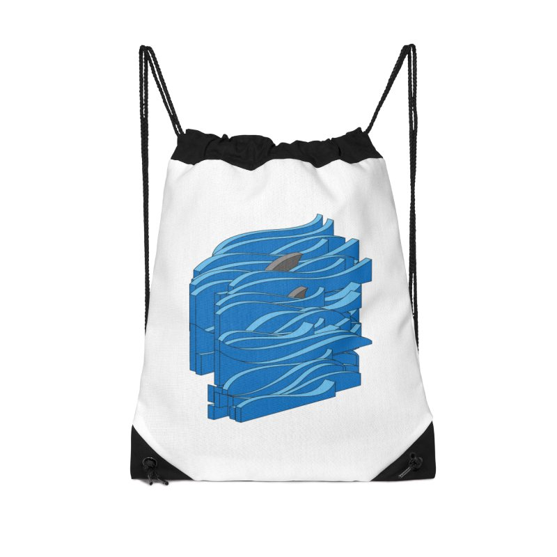 Fins Accessories Drawstring Bag Bag by bulo