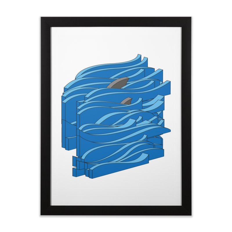 Fins Home Framed Fine Art Print by bulo