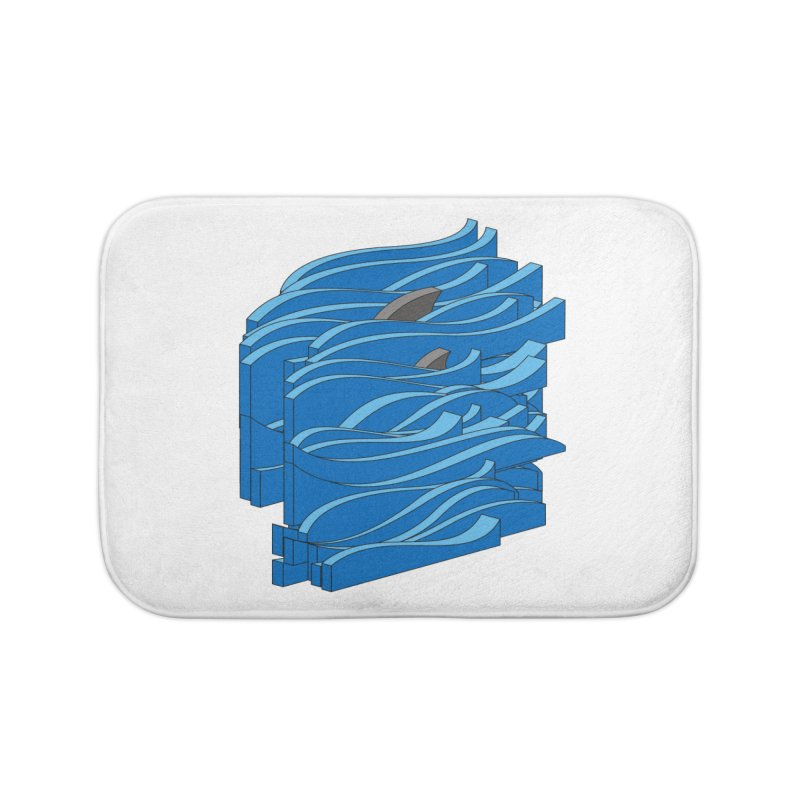 Fins Home Bath Mat by bulo