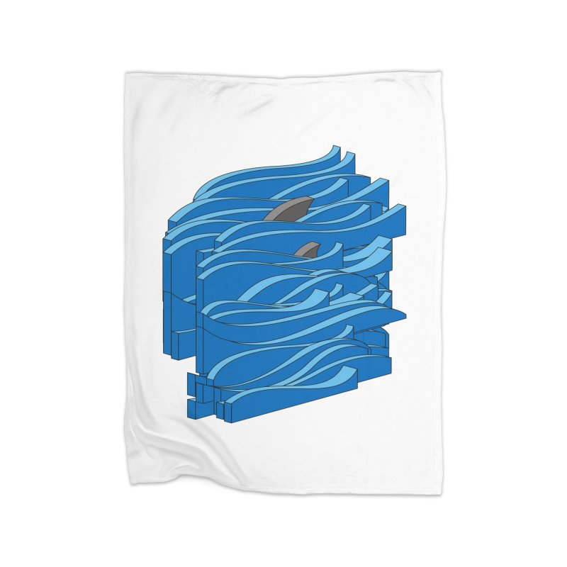 Fins Home Fleece Blanket Blanket by bulo