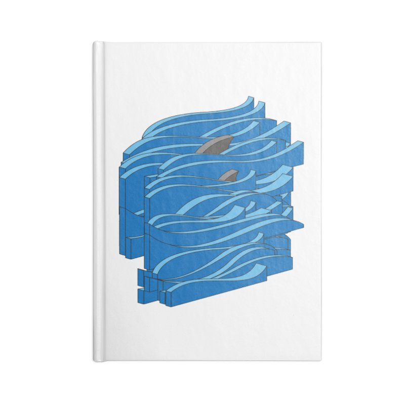 Fins Accessories Lined Journal Notebook by bulo