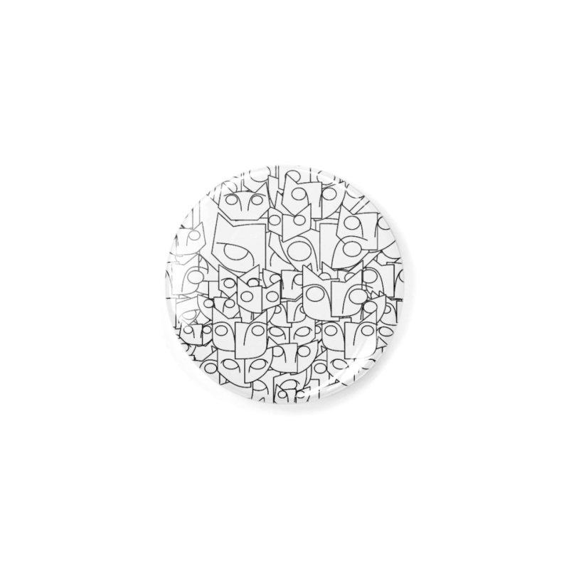 Katzen Accessories Button by bulo