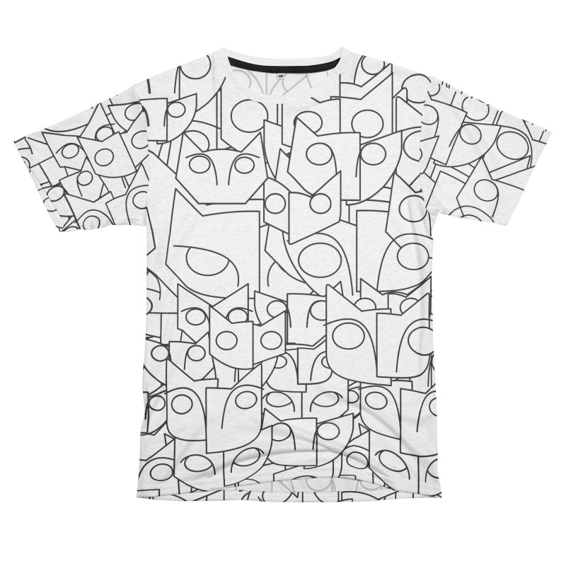 Katzen Women's Unisex French Terry T-Shirt Cut & Sew by bulo