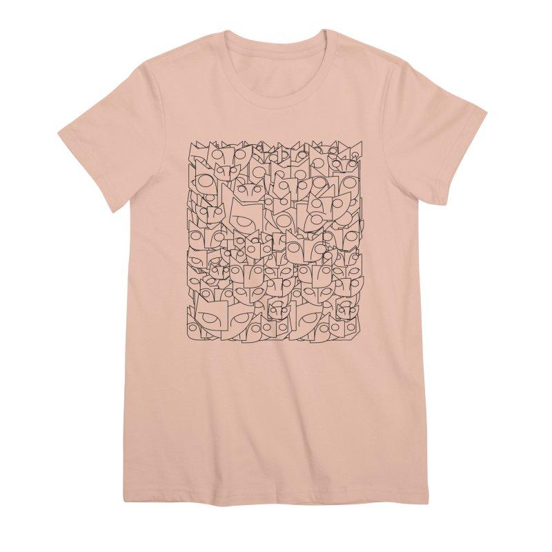 Katzen Women's Premium T-Shirt by bulo