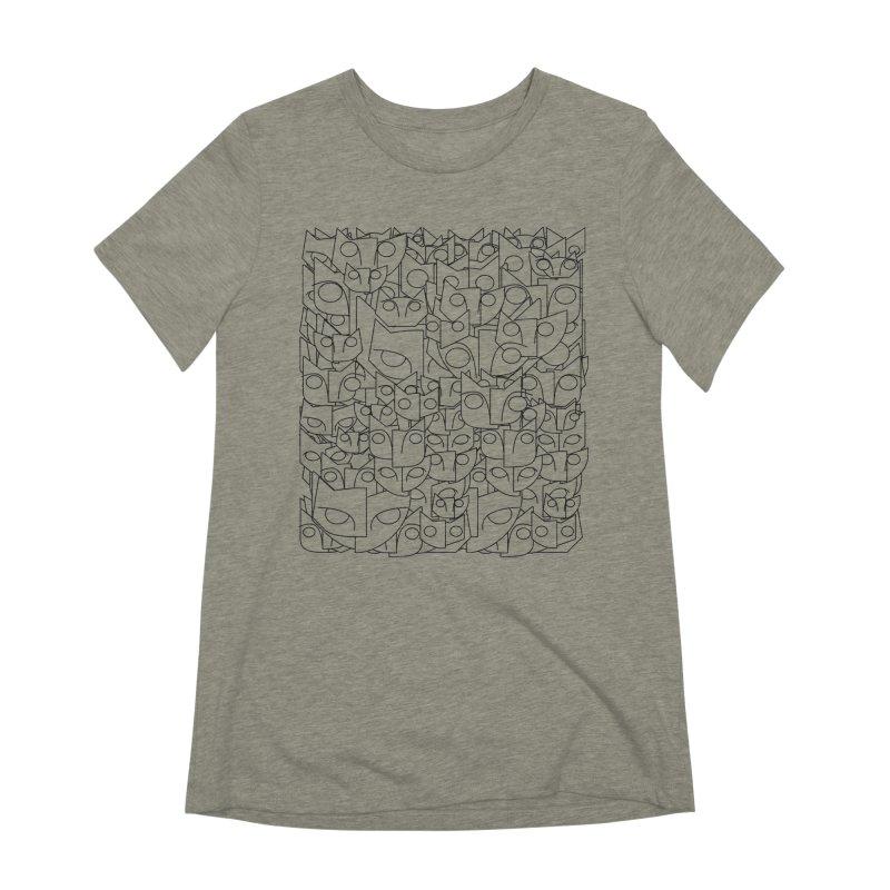 Katzen Women's Extra Soft T-Shirt by bulo