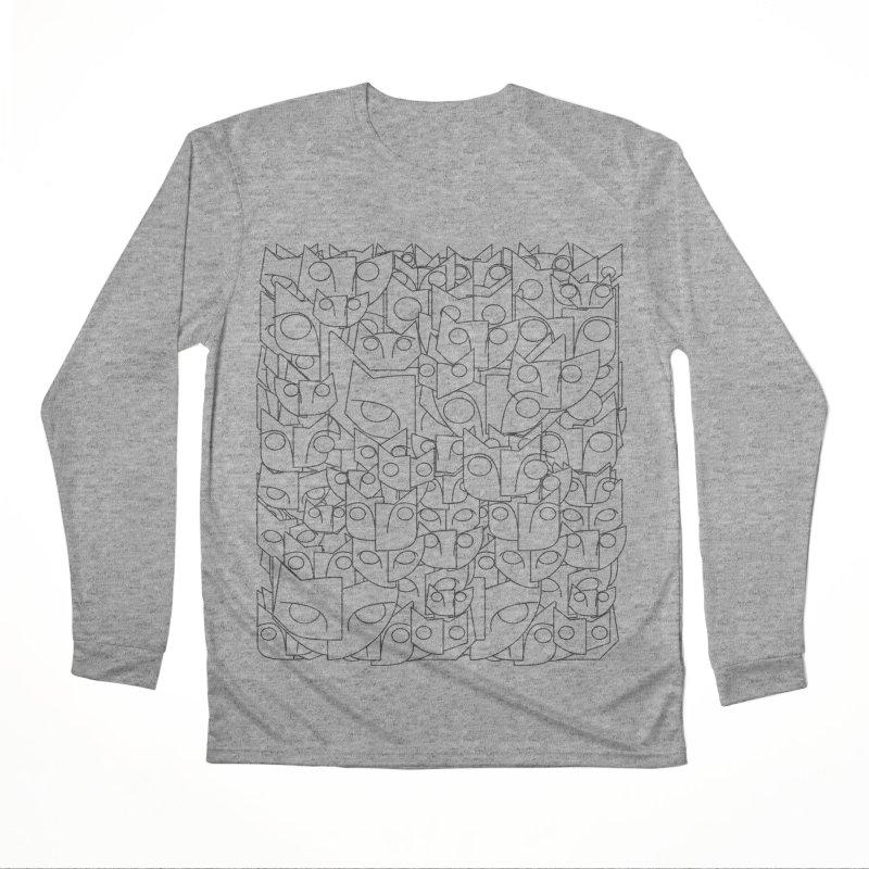 Katzen Women's Performance Unisex Longsleeve T-Shirt by bulo