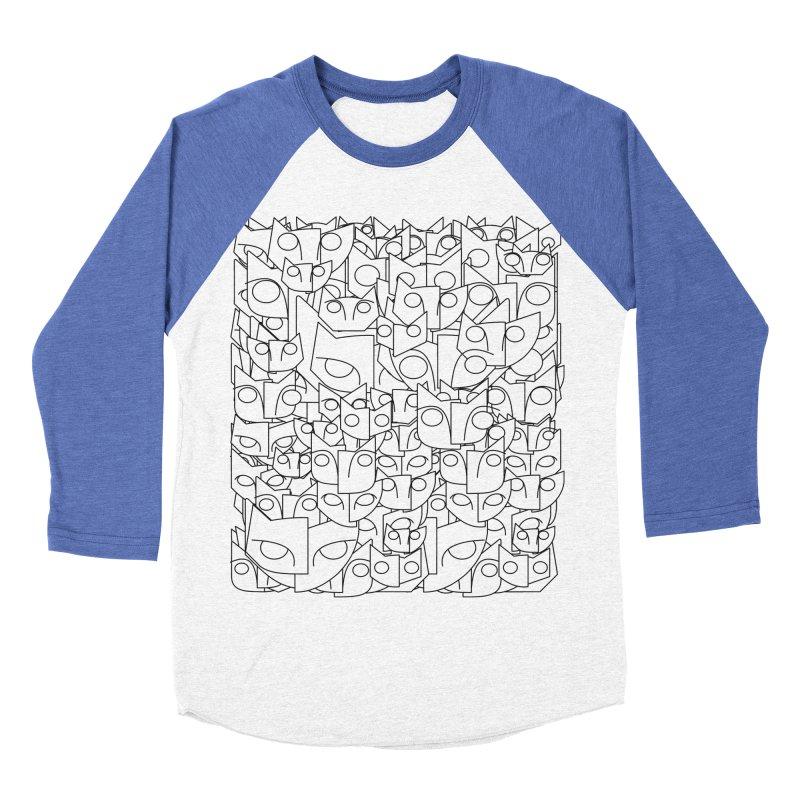Katzen Men's Baseball Triblend Longsleeve T-Shirt by bulo