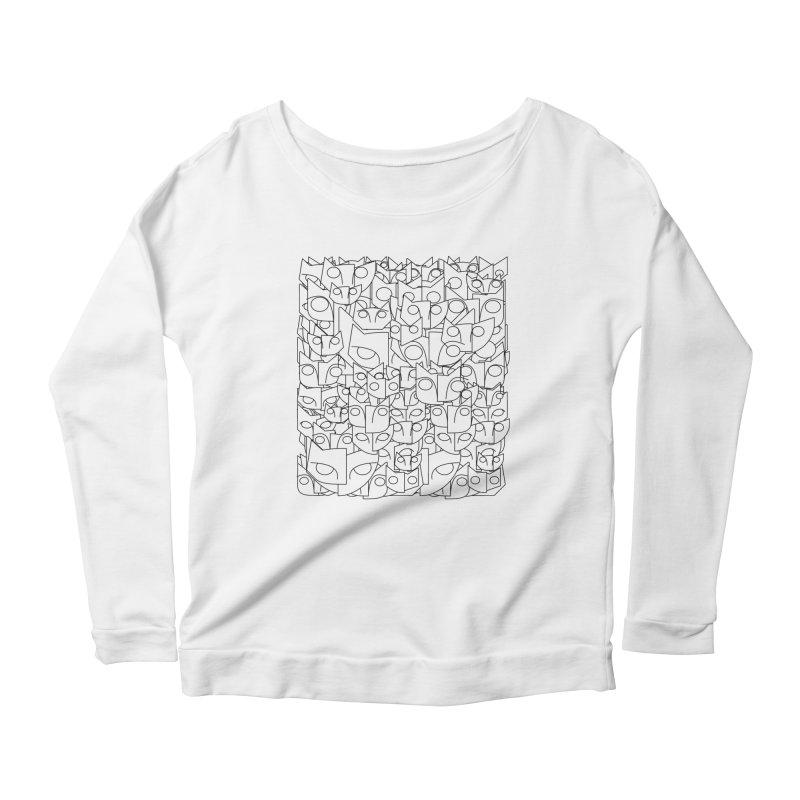 Katzen Women's Scoop Neck Longsleeve T-Shirt by bulo