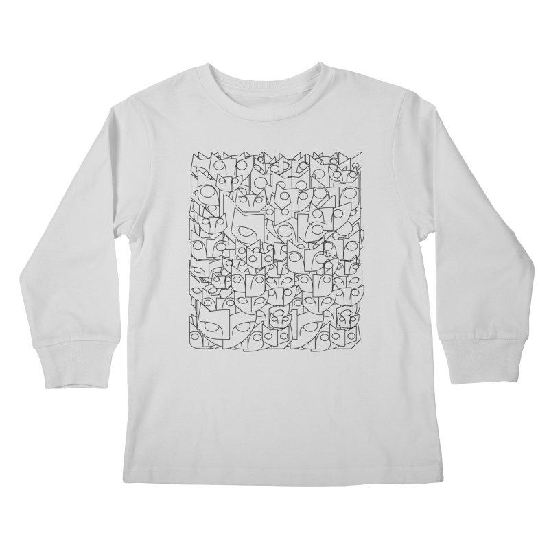 Katzen Kids Longsleeve T-Shirt by bulo