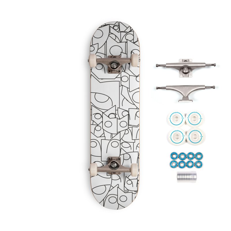Katzen Accessories Complete - Basic Skateboard by bulo
