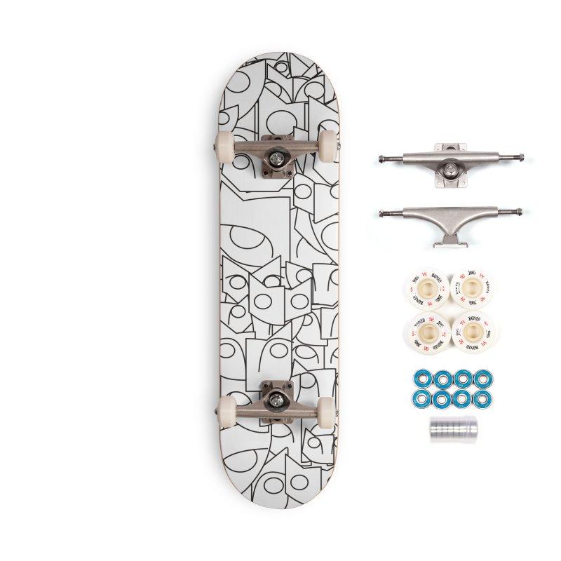 Katzen Accessories Complete - Premium Skateboard by bulo
