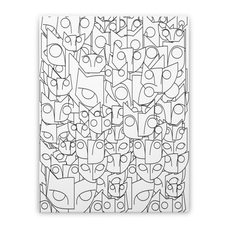 Katzen Home Stretched Canvas by bulo