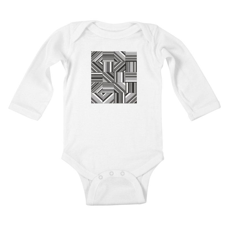 Syntony Kids Baby Longsleeve Bodysuit by bulo