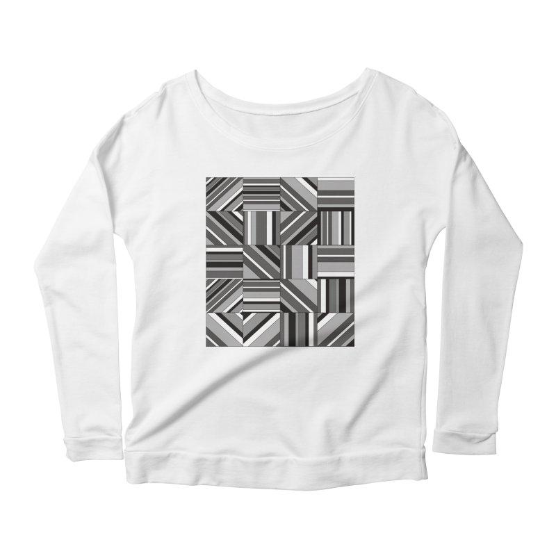 Syntony Women's Scoop Neck Longsleeve T-Shirt by bulo