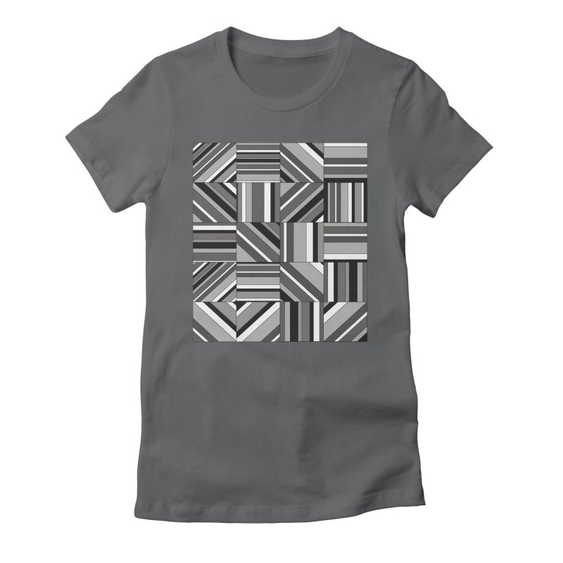 Syntony Women's Fitted T-Shirt by bulo