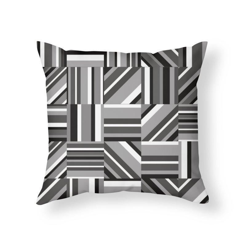 Syntony Home Throw Pillow by bulo